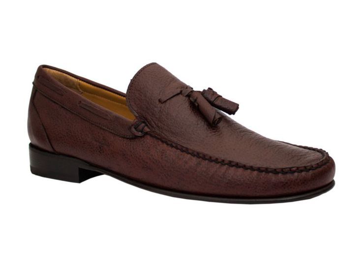 MICHEL DOMIT ZAPATO MOCASIN TABACO