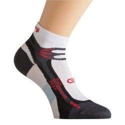 Chaussettes Running, Trail, Athlétisme - Chausettes RUN INTENSIVE PERF blanc rouge KALENJI - Vêtements running