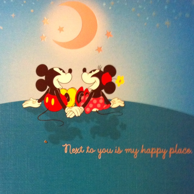 Quote For Happy Place Disney World: Next To You Is My Happy Place ♥