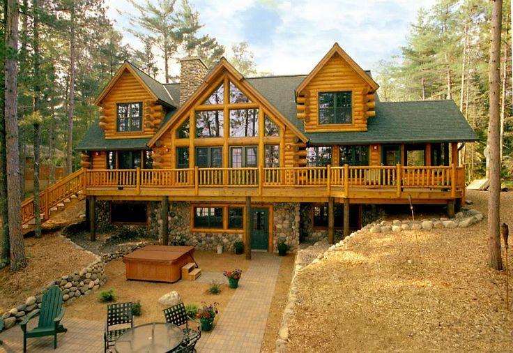 Big Fork Lake, by Tomahawk Log Homes