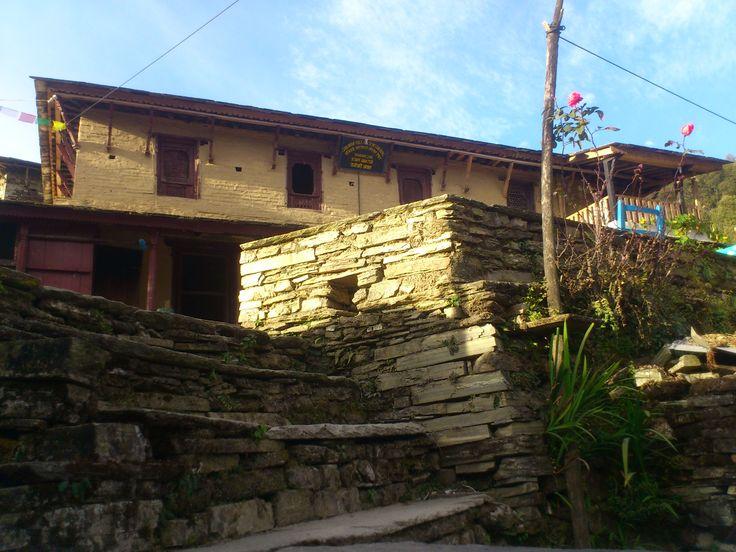 Hospital in Ghandruk #trekking #Gurung #village #Ghandruk #Ghandrung #hospital #travel