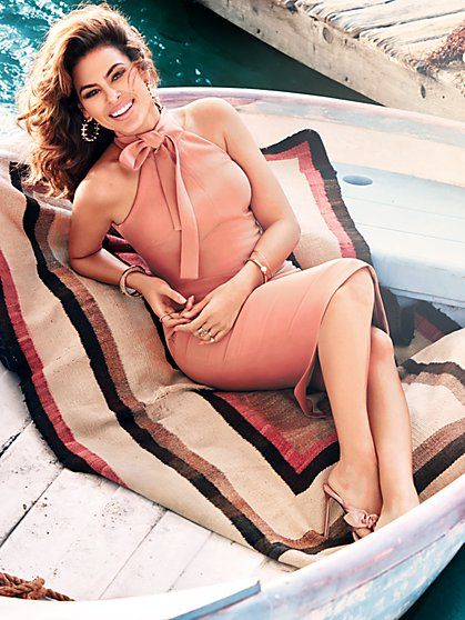Eva Mendes Collection - Nicole Halter Sheath Dress - New York & Company