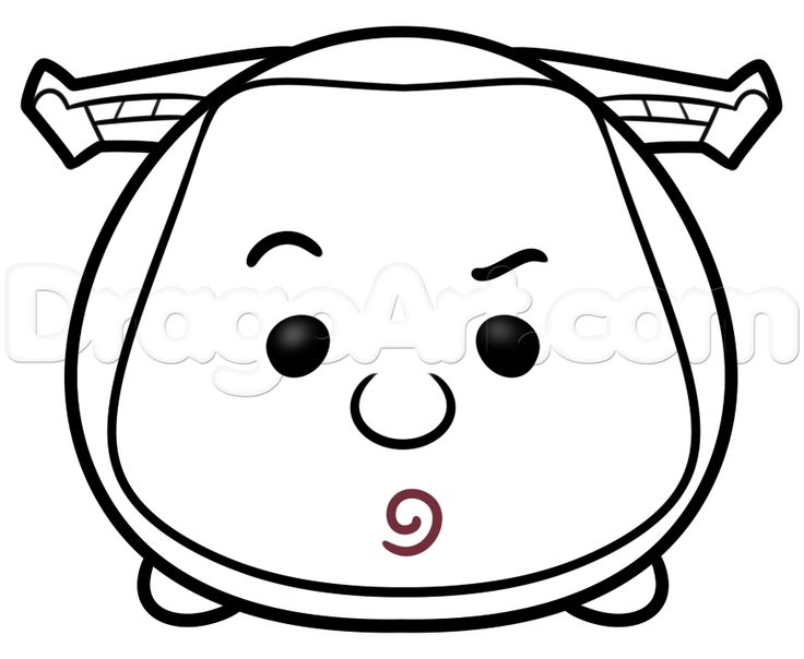 Tsum Tsum Coloring Pages Bubbles: 49 Best Tsum Faces Images On Pinterest