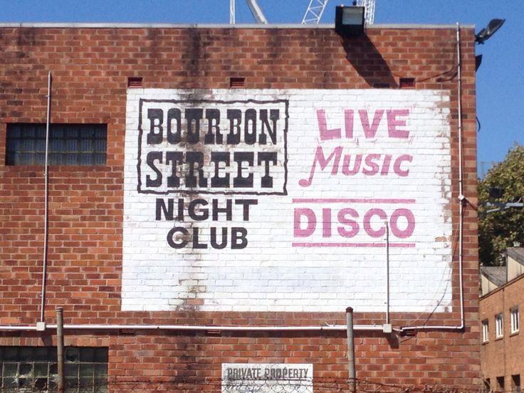 Bourbon Street night club in lane way, Wollongong