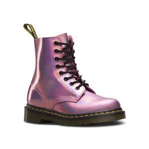 Dr.Martens ドクターマーチン PASCAL IM 8EYE BOOT 23551690 MALLOW PINK 8ホール ブーツ レディース メタリック|ddr