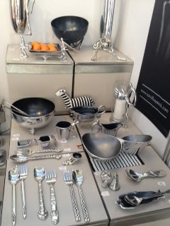 Silverware by Carrol Boyes @ Top Drawer 2013 #topdrawer #topdrawer13 #homeshow #designfair #interiors #interiordesign #topdrawer2013 #topdrawlondon #design #fair