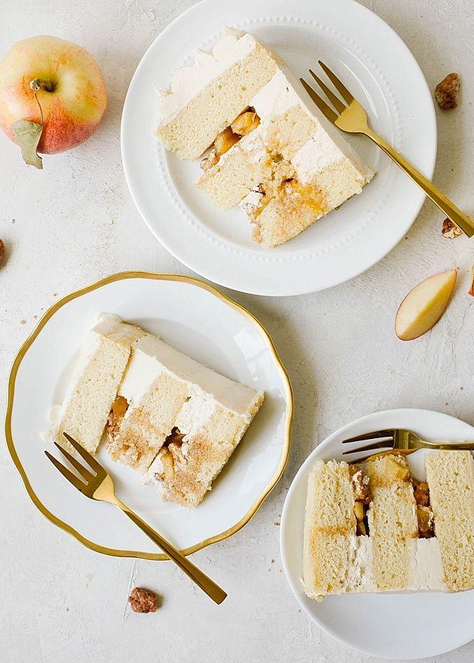 Maple Apple Cake Wood Spoon Recipe Food Apple Cake Recipes Maple Apple Cake Recipe