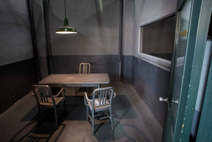 Police Interrogation room