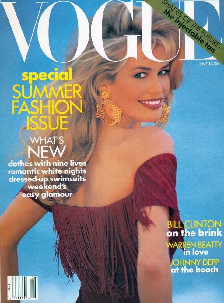 Vogue Us June 1992 Photographer Patrick Demarchelier