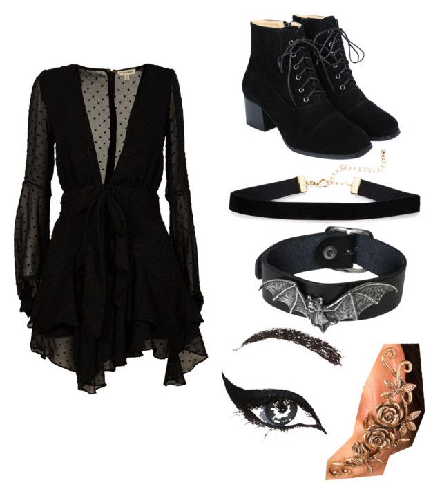 """""""Untitled #14"""" by mystyleisme on Polyvore featuring For Love & Lemons and Concrete Minerals"""