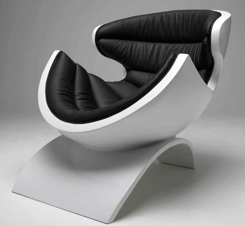 Futuristic Furniture, Modern, Futuristic Armchair, P38 Chair By Owen Edwards. @Deidré Wallace