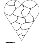 Heart Map to inspire writing throughout the year. Paste in each student's writer's workshop notebook.