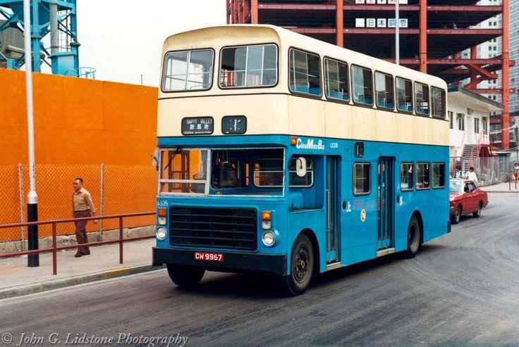 China Motor Bus / CMB ex-Wolverhampton 1967 Guy Arab MkV / Alexander (1982) rebody LX335 , CW 9967, chassis originally Wolverhampton Transport MDA 199E on route 1 at Sai Wan Ho