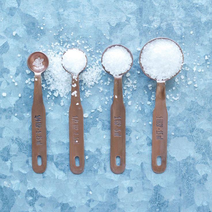 Copper Measuring Spoons £16