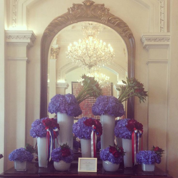4th of July flower display