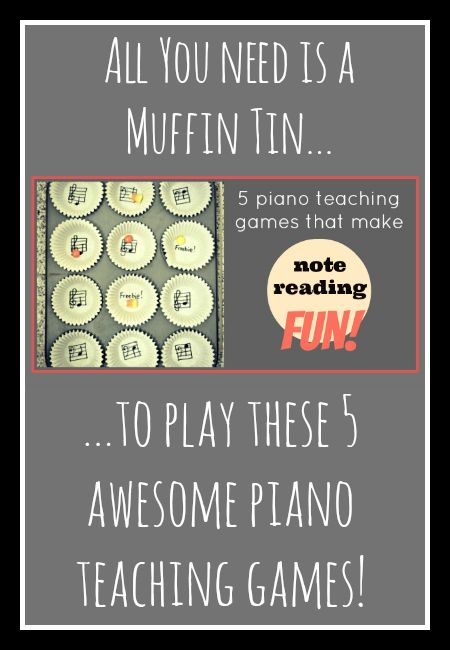 5 super fun piano teaching games with simple set up.  Play them this afternoon! teachpianotoday.com #pianoteachingames #lessonactivities