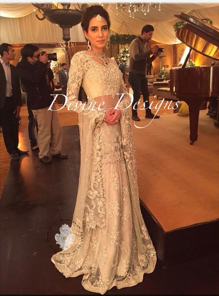 Élan by khadija shah silver grey bridal |bw-97 - Pakistani Wedding Dresses, Indian Bridal Wear, Wedding Lehengas, Party Wear Dresses