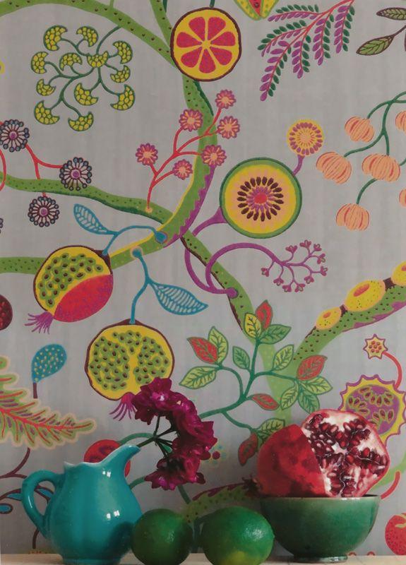 Tapet 78126: Mojito Multicolore från Pierre Frey - Tapetorama