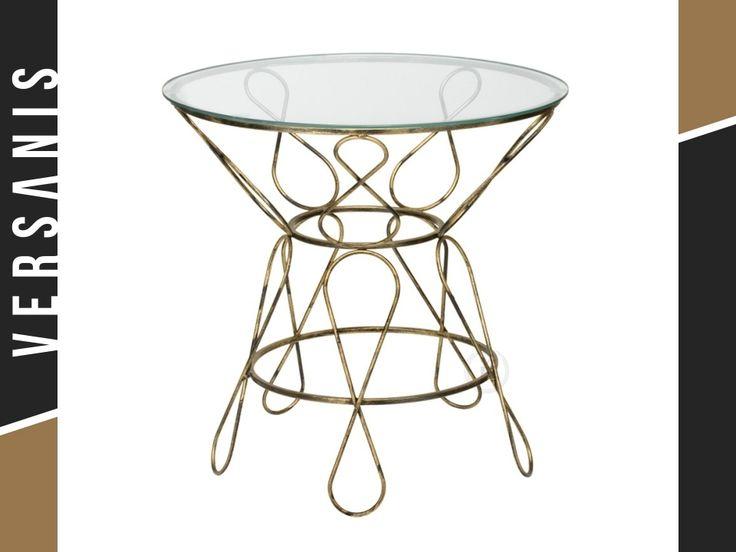 Marvelous Tisch aus Metall Rundtisch Ecktisch Oval Tisch