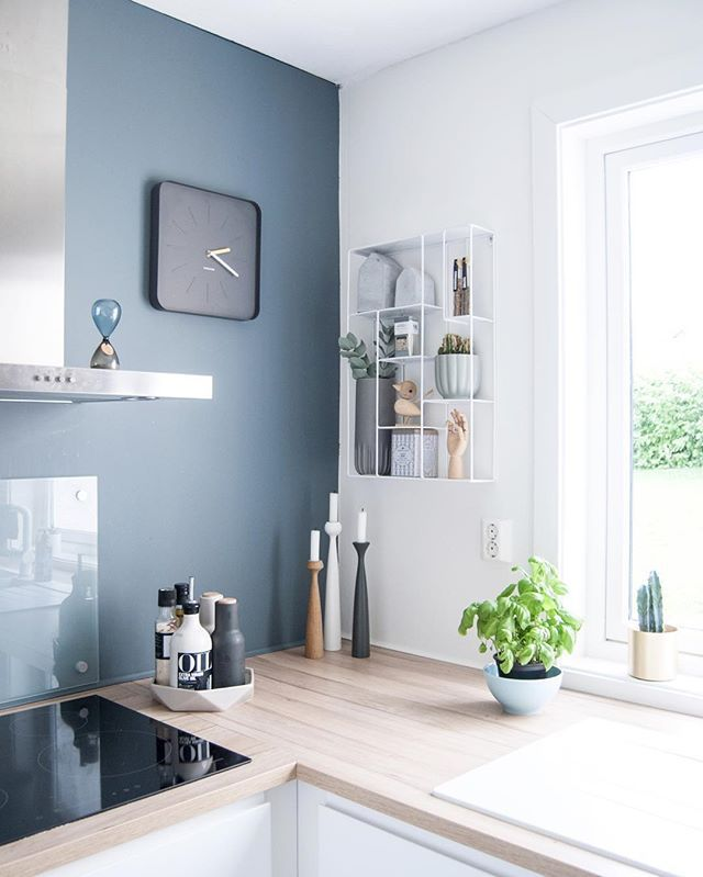 Grey Walls In Kitchen best 25+ blue walls kitchen ideas on pinterest | blue wall colors