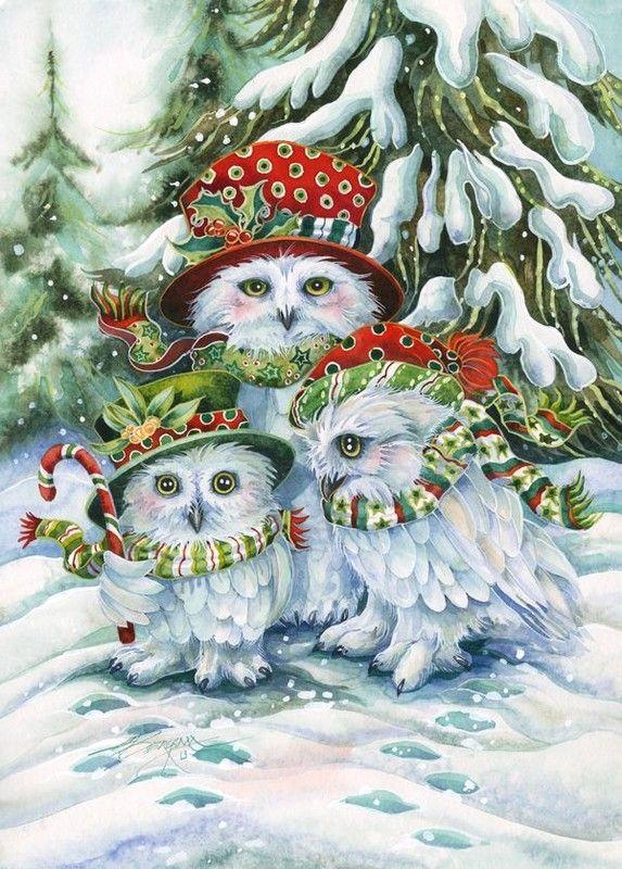 Owl Be Home For Christmas .......................LB XXX.