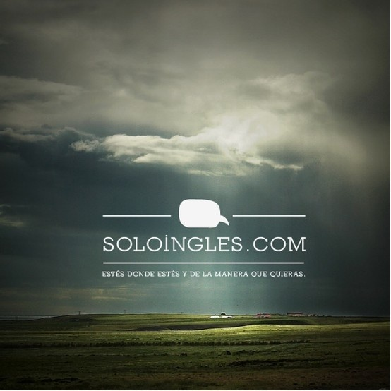 in the countryside..  www.soloingles.com