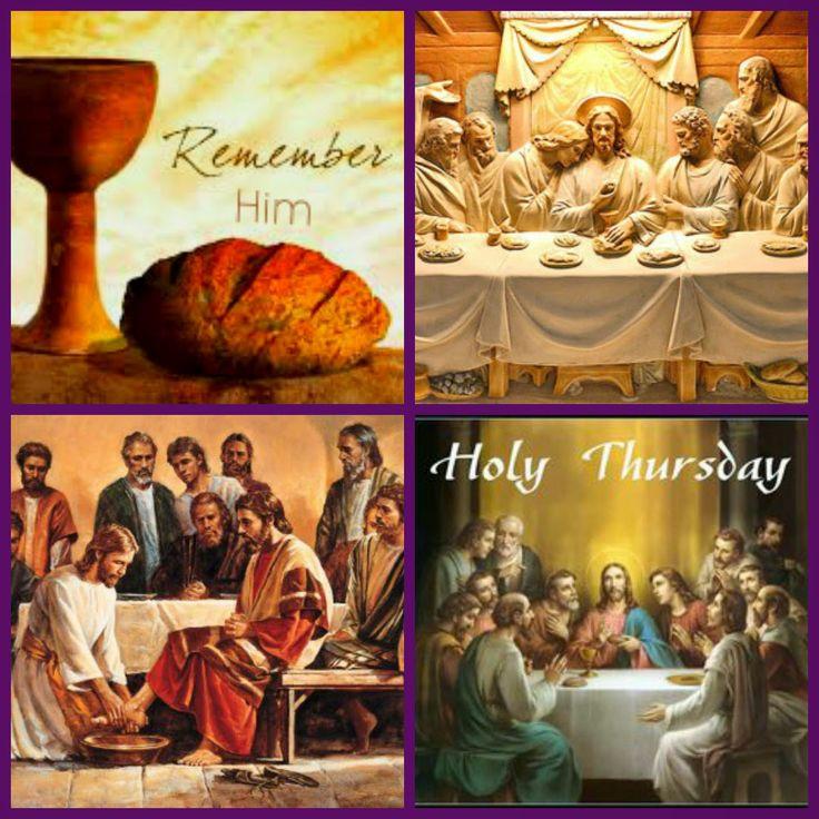 Holy+Thursday+.jpg (1200×1200)