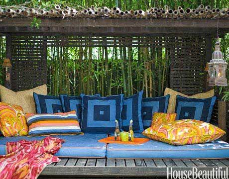 A Colorful Cabana