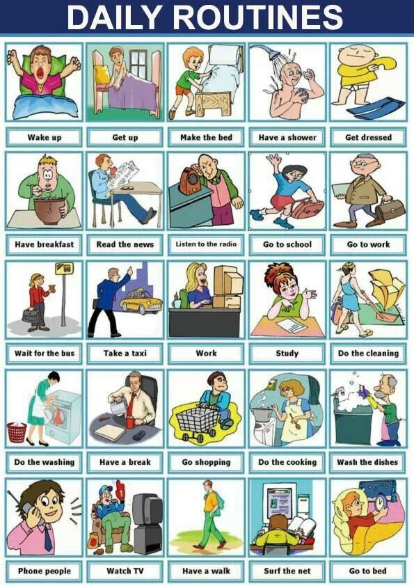 BUILDING-UP ENGLISH 4: PRESENT/ PAST TENSES