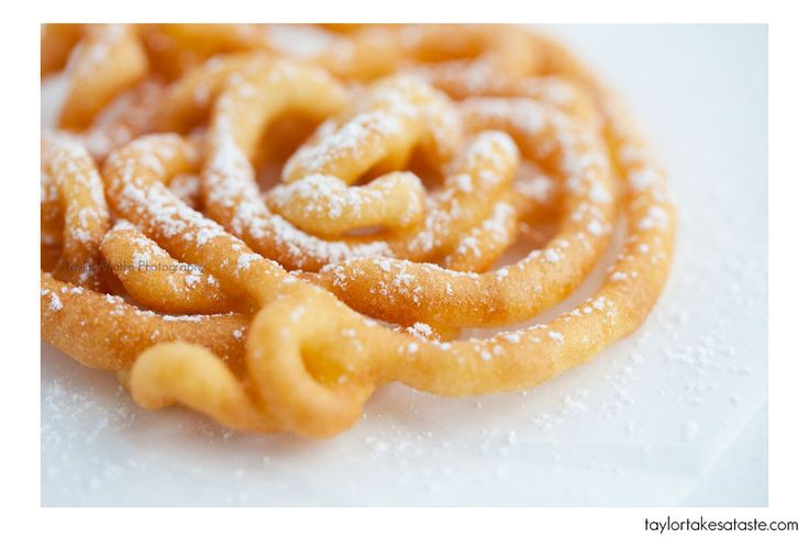 Pretty sure I can make these gluten free! My all time favorite treat is called an elephant ear but it's pretty much the same thing as a funnel cake!