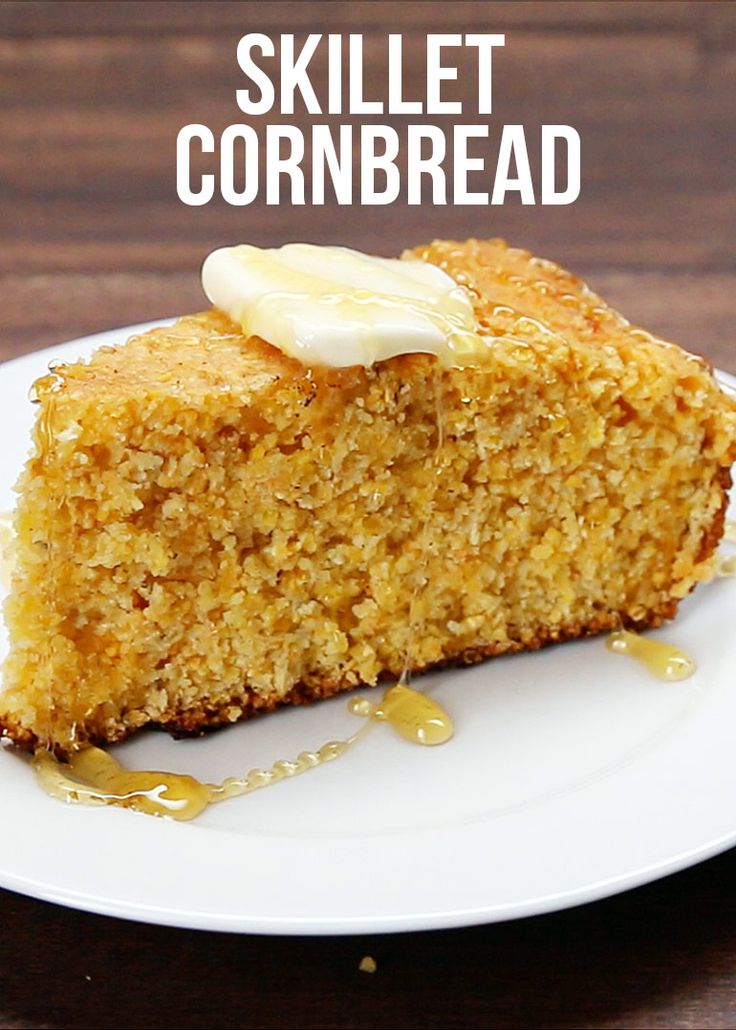 Cheddar Cornbread You Can Make In A Skillet