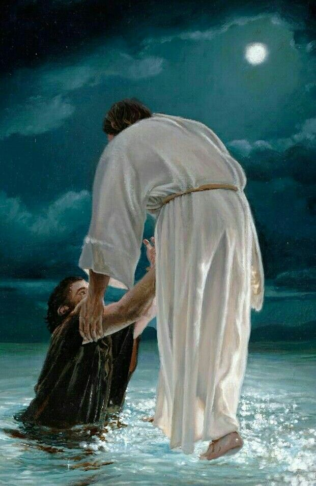 Just when you think, that it is over! And out of nowhere Jesus takes your hand and pulls you through, even when you don't see a way out.. He does!