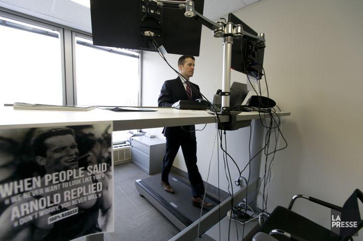 Une nouvelle étude de HEC Montréal démontre que lebureauactif- un poste de travail jumelé à un tapis roulant - stimule la mémoire et l'attention des travailleurs.