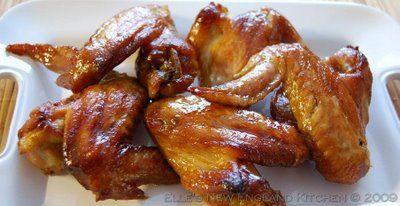 Easy Teriyaki Chicken Wings--my favorite --chicken and teriyaki! yummm