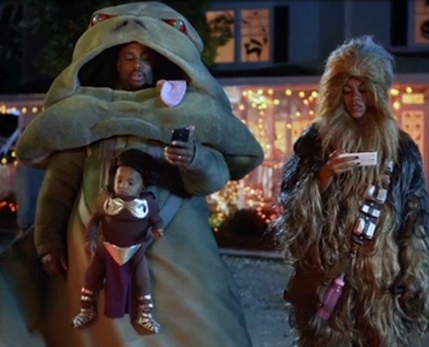 Best Star Wars costume ever! Halloween