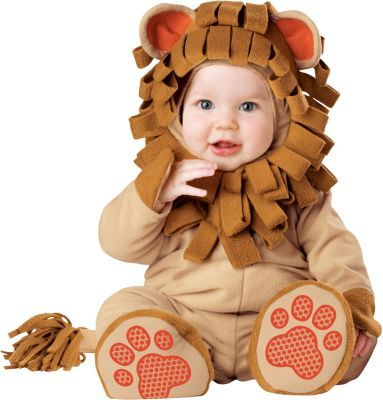 Jamesons first halloween....Baby Lil' Bitty Lion Costume