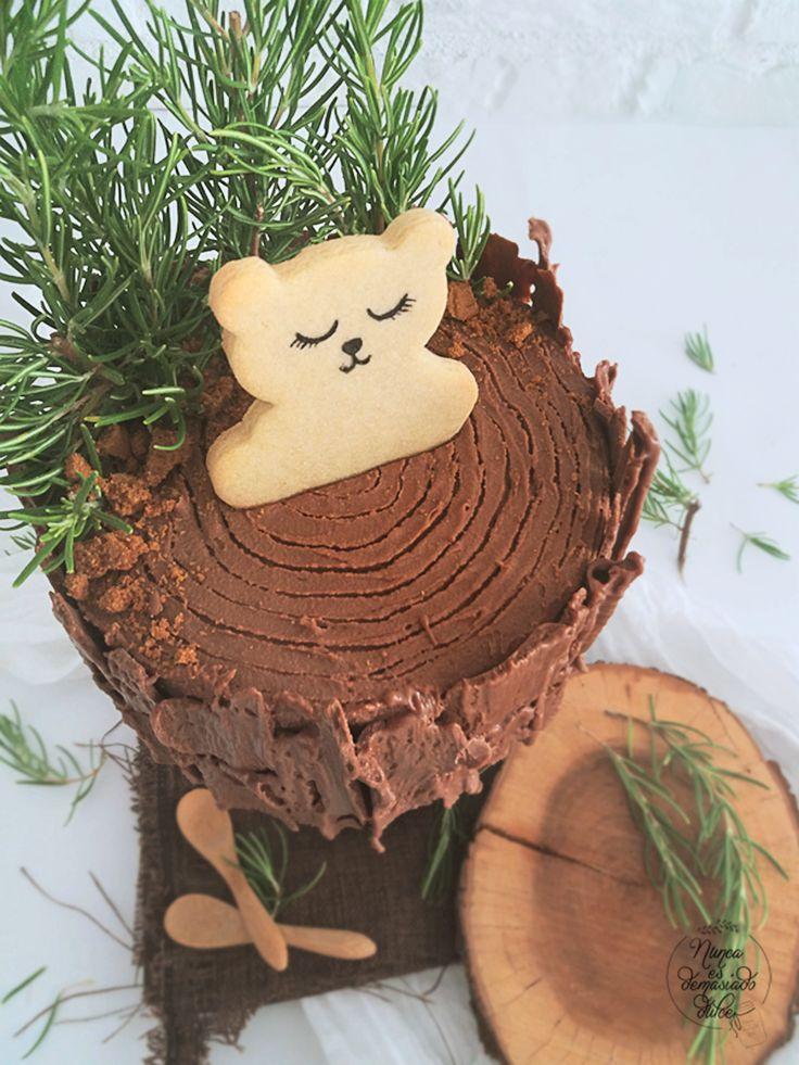 Log Chocolate Cake
