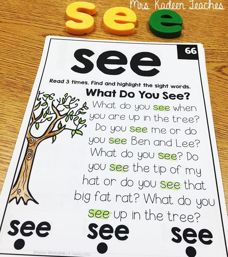 Sight words in context ! Great idea reading 100 sight words throughout the year.