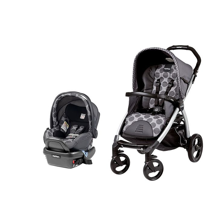 """Peg Perego Book Classico Travel System - Pois Grey - Peg Perego - Babies""""R""""Us of course the one i really like is $749.99"""