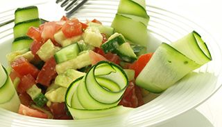 #Salade de #concombres #recettesduqc #sante