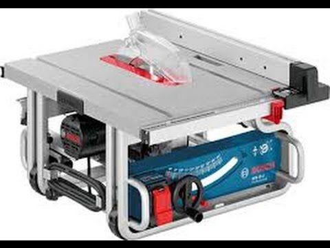 Review serra de bancada Bosch GTS 10J - YouTube