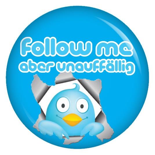 Zarte Bande knüpfen. Deshalb: Follow me - aber unauffällig.