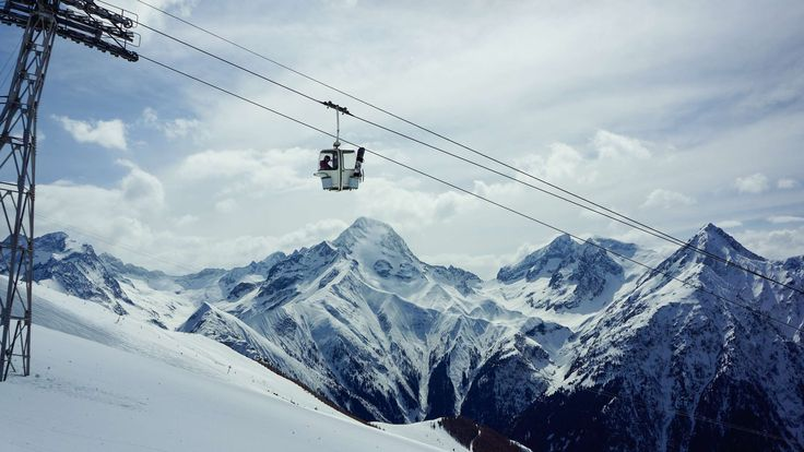 #adventure #alpine #altitude #cable wire #climb #clouds #cold #daylight #frost #frozen #gondola lift #high #hike #hill #ice #landscape #lift #lifting up #low angle shot #mountain #mountain peak #nature #outdoors #person