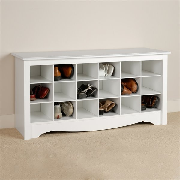 hall bench/shoe storage- remake an old chest of drawers or sideboard!