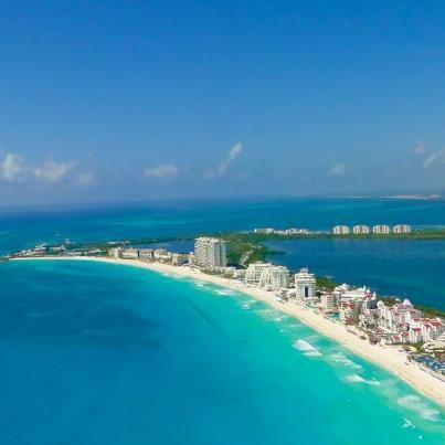Beautiful view of Cancun, Mexico