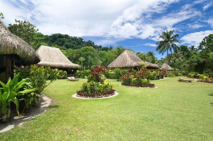 Stay in an authentic Fijian bure