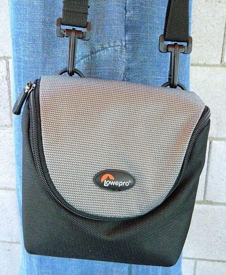 Lowepro Camera Bag Adjustable Strap Black & Gray D-Res 30AW #Lowepro