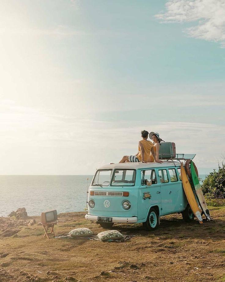 Enjoy the beauty of Tegal Wangi beach with someone…