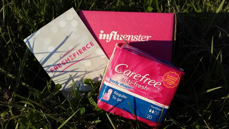 Courtesy of @infulenster. My #voxbox contained #carefree panty liners to sample. #freshisfierce