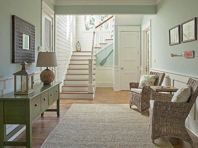 181 best images about foyers, entries and stairs on pinterest ...